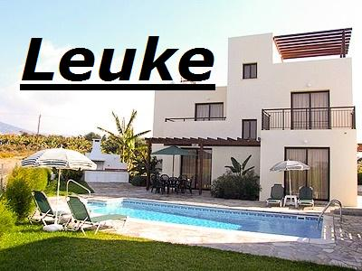cyprus holiday villa leuke